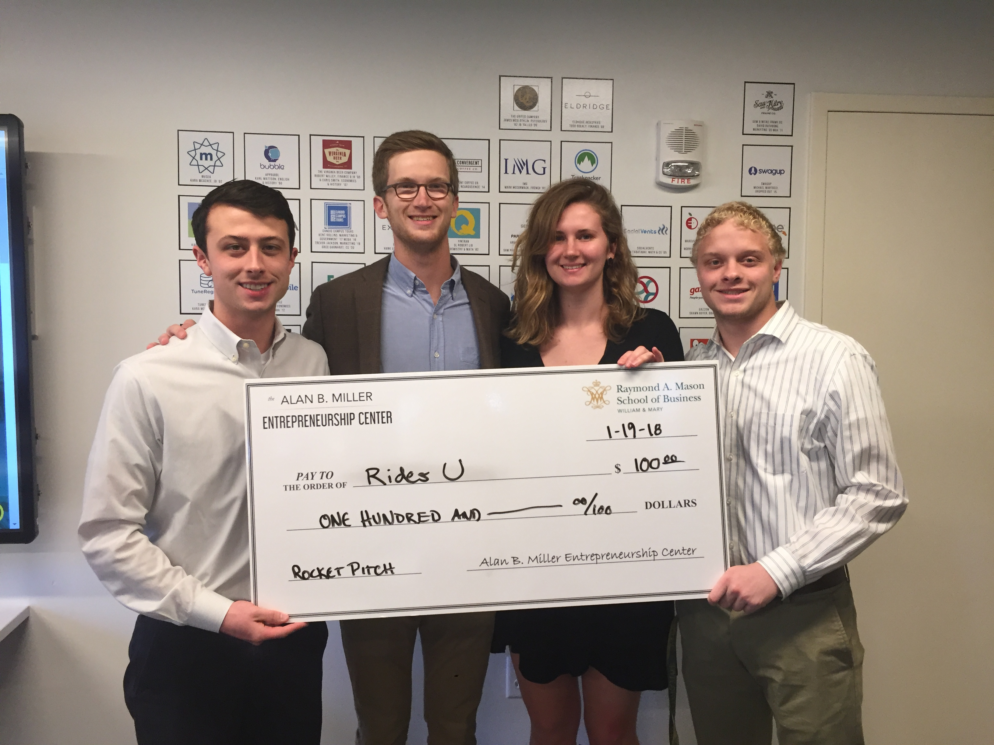Rides U, Rocket Pitch Winner